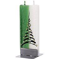 FLATYZ Christmas Tree, Green & White 80g - Candle