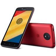 Motorola Moto C LTE Red - Mobilný telefón