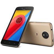 Motorola Moto C Plus Gold - Mobilný telefón