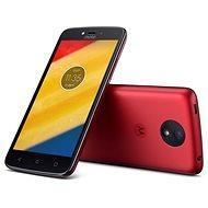 Motorola Moto C Plus Red - Mobilný telefón