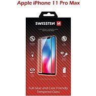 Ochranné sklo Swissten Case Friendly pre iPhone 11 Pro Max čierne