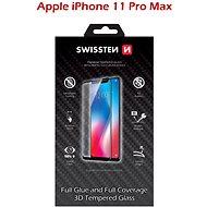 Swissten 3D Full Glue pre iPhone 11 PRO MAX čierne