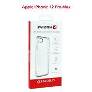 Swissten Clear Jelly na Apple iPhone 12 Pro Max - Kryt na mobil