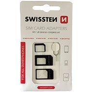 Swissten adaptér na sim 4 v 1 - Adaptér