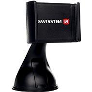 Swissten B2 držiak na sklo alebo palubnú dosku - Držiak na mobil