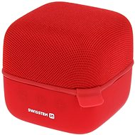 Swissten Music Cube Bluetooth reproduktor červený