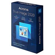 Acronis True Image 2020 CZ pre 3 PC BOX - Zálohovací softvér