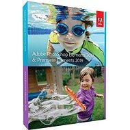 Adobe Photoshop Elements + Premiere Elements 2019 CZ Student & Teacher BOX - Softvér