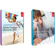 Adobe Photoshop Elements + Premiere Element 2020 CZ WIN (BOX) - Softvér