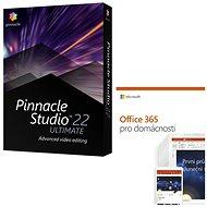 Pinnacle Studio 22 Ultimate + Microsoft Office 365 pre domácnosti ... 7693330a95b