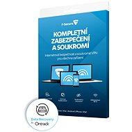 F-Secure TOTAL FAMILY DR pre 5 zariadení na 1 rok + Data Recovery pre 1 zariadenie na 1 rok BOX - Antivírusový softvér