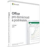 Microsoft Office 2019 pre domácnosti a podnikateľov CZ (BOX) - Kancelárska aplikácia