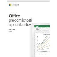 Microsoft Office 2019 Home and Business SK (BOX) - Kancelárska aplikácia