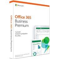 Microsoft Office 365 Business Premium Retail CZ (BOX) - Kancelárska aplikácia