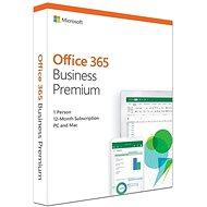 Microsoft Office 365 Business Premium Retail EN (BOX) - Kancelársky softvér