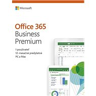 Microsoft Office 365 Business Premium Retail SK (BOX)