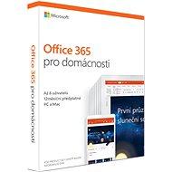 Microsoft Office 365 pre domácnosti SK (BOX) - Kancelárska aplikácia