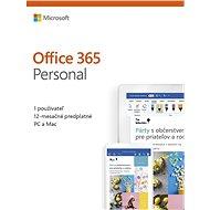 Microsoft Office 365 Personal SK (BOX) - Kancelárska aplikácia