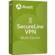 Avast SecureLine VPN Multi-device na 12 mesiacov (elektronická licencia) - Bezpečnostný softvér