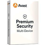 Avast Premium Security Multi-device (až 10 zariadení) na 12 mesiacov (elektronická licencia) - Antivírus