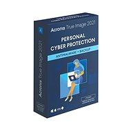 Acronis True Image 2021 Premium Protection pre 3 PC na 1 rok + 1TB Acronis Cloud úložisko (elek. licencia) - Zálohovací softvér