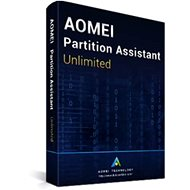 AOMEI Partition Assistant Unlimited (elektronická licencia)