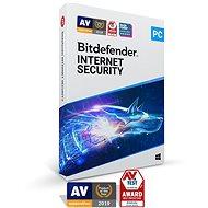 Bitdefender Internet Security 2020 (elektronická licence) - Antivírus