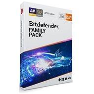 Bitdefender Family Pack pre 15 zariadení na 1 rok (BOX) - Antivírus