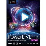 Cyberlink PowerDVD 17 Ultra (elektronická licencia) - Elektronická licencia