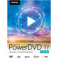Cyberlink PowerDVD 17 Standard (elektronická licencia) - Elektronická licencia