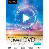 Cyberlink PowerDVD 17 Standard (elektronická licencia) - Kancelársky softvér