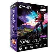 CyberLink PowerDirector 17 Ultimate (elektronická licencia) - Elektronická licencia