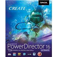 CyberLink PowerDirector 16 Ultimate (elektronická licencia) - Strihový softvér