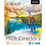 CyberLink PhotoDirector 9 Ultra (elektronická licencia) - Grafický softvér