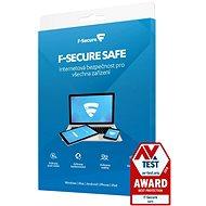 F-Secure SAFE pre 3 zariadenia na 1 rok (elektronická licencia) - Antivírus