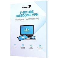 F-Secure FREEDOME pre 3 zariadenia na 1 rok (elektronická licencia) - Antivírus