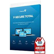 F-Secure TOTAL pre 3 zariadenia na 1 rok (elektronická licencia) - Internet Security