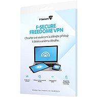 F-Secure FREEDOME pre 1 zariadenie na 2 roky (elektronická licencia) - Antivírus