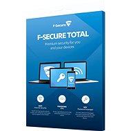 F-Secure TOTAL FAMILY DR pre 5 zariadení na 1 rok + Data Recovery pre 1 zariadenie na 1 rok (elektronická licencia) - Antivírus