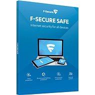 F-Secure SAFE pre 1 zariadenie na 1 rok (elektronická licencia)