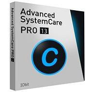 Iobit Advanced SystemCare 13 PRO pre 1 počítač na 12 mesiacov (elektronická licencia) - Kancelársky softvér