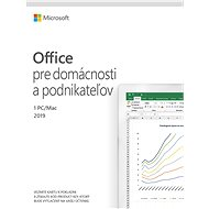 Microsoft Office 2019 Home and Business SK ( elektronická licence ) - Elektronická licence