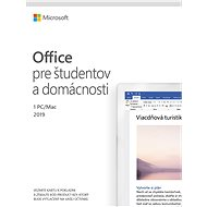 Microsoft Office 2019 Home and Student SK (elektronická licence) - Elektronická licence