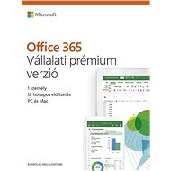 Microsoft Office 365 Business Premium Retail HU (elektronická licence) - Elektronická licence