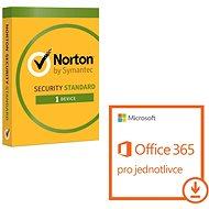 Microsoft Office 365 pre jednotlivca + Norton Int. Security pre 1 zar. (elektronická licencia) - Elektronická licencia