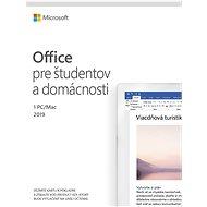 Microsoft Office 2019 pre domácnosti a študentov (elektronická licencia) - Kancelársky softvér