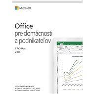 Microsoft Office 2019 pre domácnosti a podnikateľov (elektronická licencia)