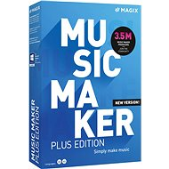 MAGIX Music Maker Plus 2021 (Electronic License)