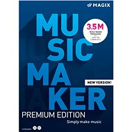 MAGIX Music Maker Premium 2021 (Electronic License)