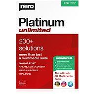 Nero Platinum Unlimited 7 v 1 CZ (elektronická licencia) - Napaľovací program